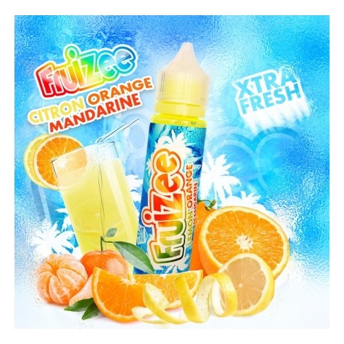 Lemon Orange Mandarine 60ml - Fruizee
