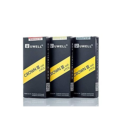 Pack 4 résistances Crown III - Uwell