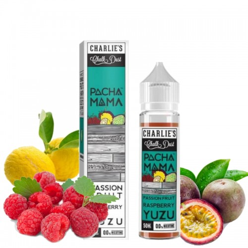 Passion Fruit Raspberry Yuzu 50ml - Pacha Mama