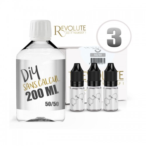 Pack DIY 200ML 3MG - Revolute