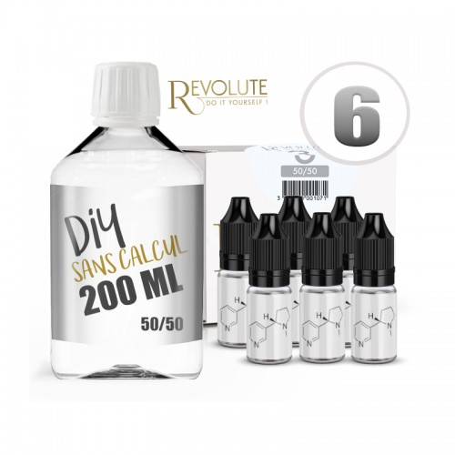 Pack DIY 200ML 6MG - Revolute