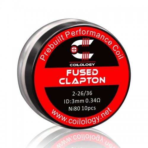 Fused Clapton NI80 0.34ohm - Coilology