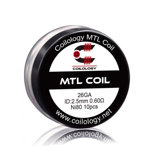 MTL Coil NI80 0.6ohm - Coilology