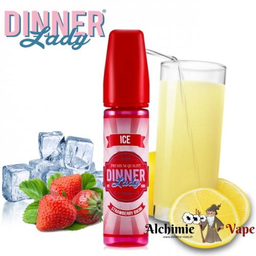 Strawberry Bikini Ice  - Dinner Lady