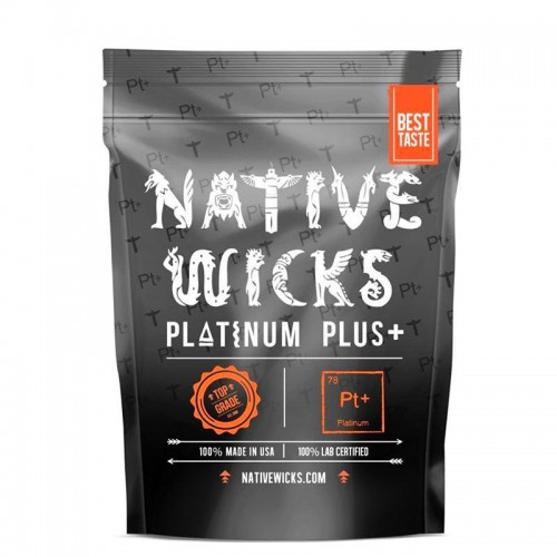 Native Wicks Cotton Platinium Plus +