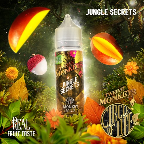 Jungle Secret 50ml - 12 Monkeys