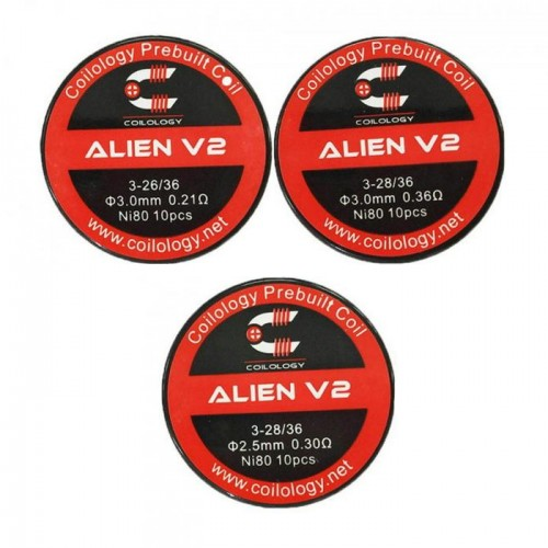 Pack de 10 Alien V2 NI80 - Coilology