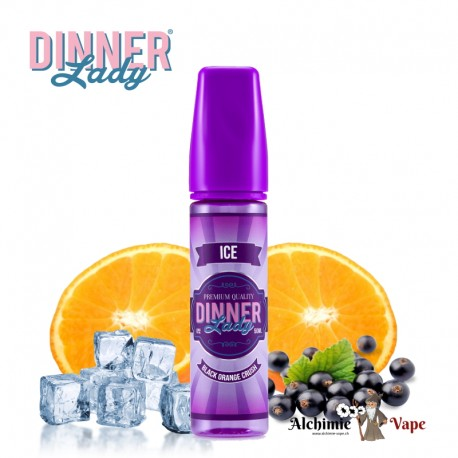 Black Orange Crush Ice - Dinner Lady