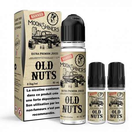 Old Nuts 60ml - Moonshiners - Le French Liquide