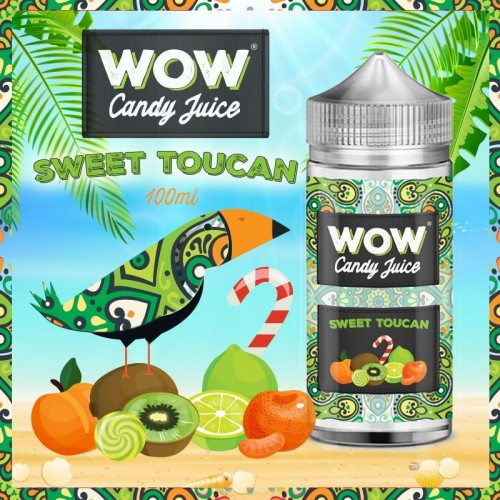 Sweet Toucan 100ml - Wow Candy Juice