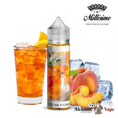 Ice Tea Pêche 50ml - Millésime