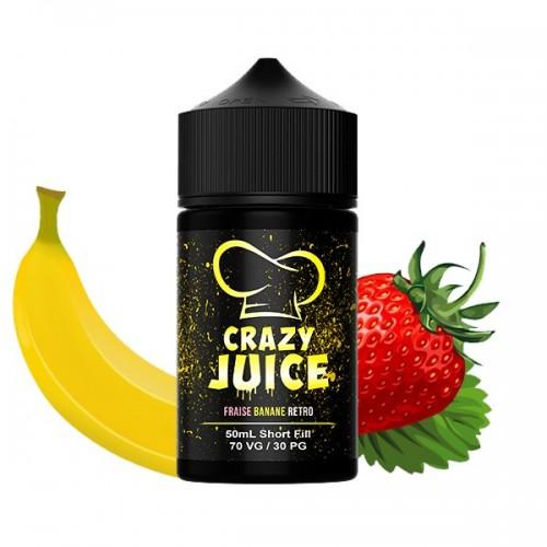 Fraise Banane Retro - Crazy Juice