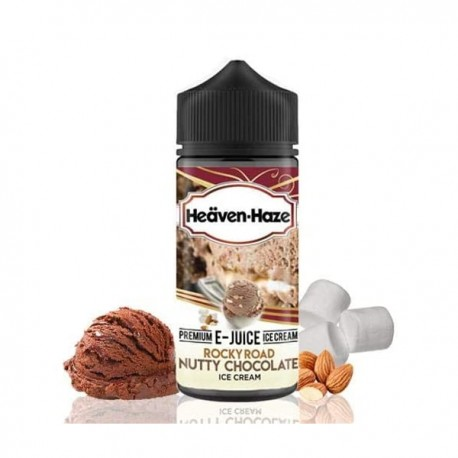 Rocky Road Nutty Chocolate Ice Cream - Heäven-Haze